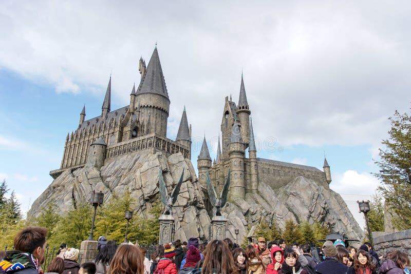 Hogwarts Schloss redaktionelles stockfoto. Bild von ...