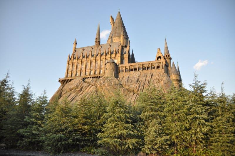 Hogwarts School in USJ stock image