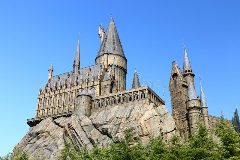 Hogwarts szkoła Harry Poter zdjęcia stock