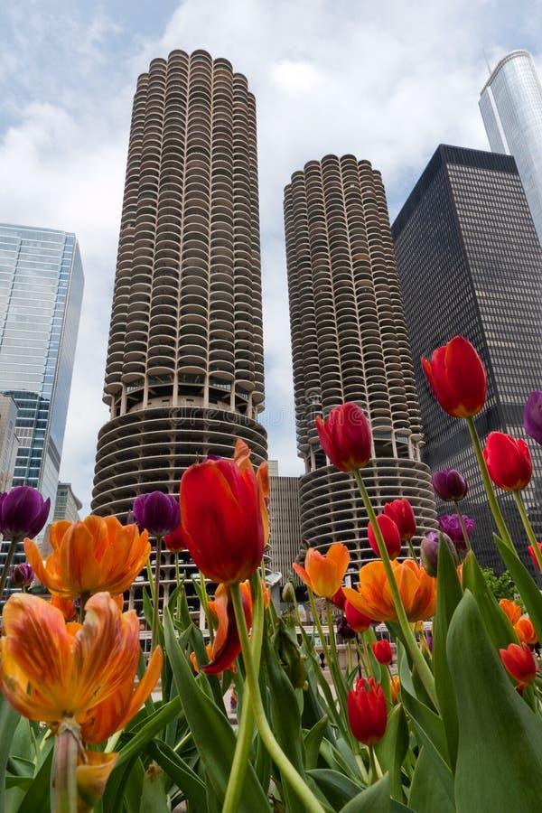 Hohe Anstieg-Gebäude lizenzfreie stockbilder