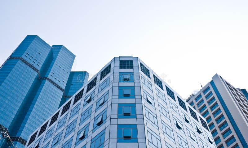 Hohe Anstieggebäude in CBD Bereich stockbild