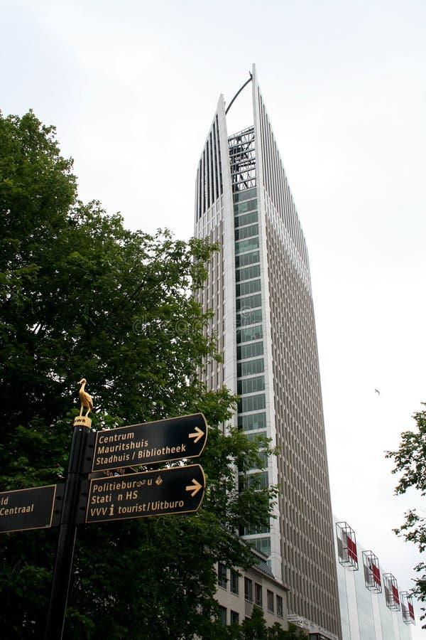 Hohe Aufstiegsbuidlings und -wolkenkratzer lizenzfreie stockfotografie