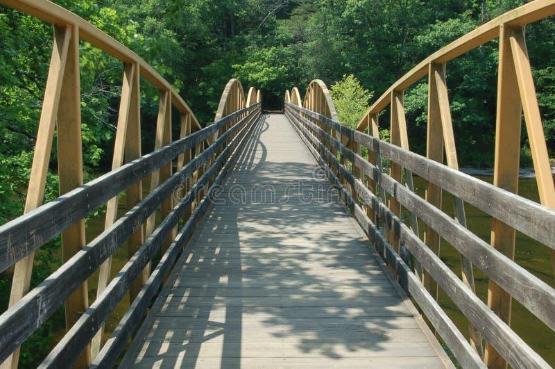 Hohe Fall-Brücke stockbilder
