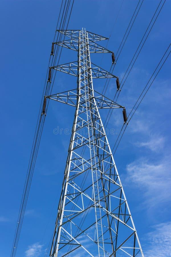 Hohe Leistung des elektrischen Postens lizenzfreies stockbild
