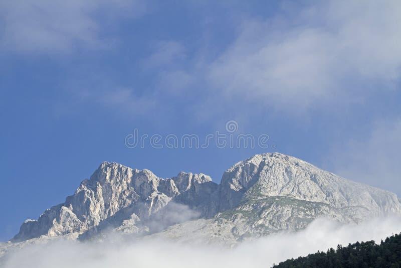 Hohe Munde στα βουνά Mieming στοκ εικόνα