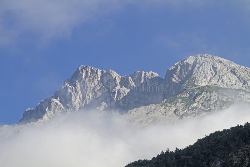 Hohe Munde στα βουνά Mieming στοκ φωτογραφία