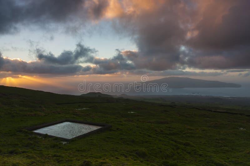 Hohe Weiden Azoren lizenzfreie stockfotografie