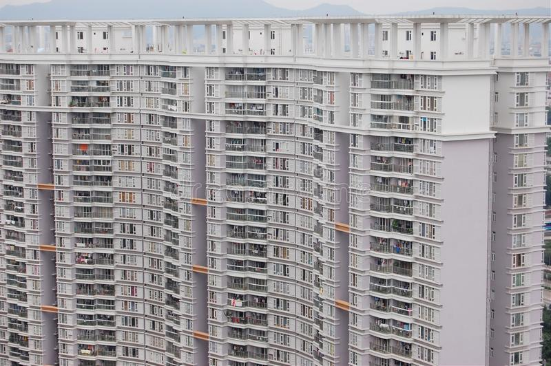 Hohe Wohngebäude lizenzfreies stockfoto
