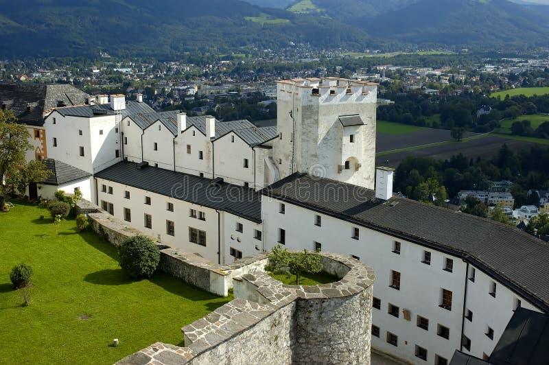 Hohensalzburg imagem de stock
