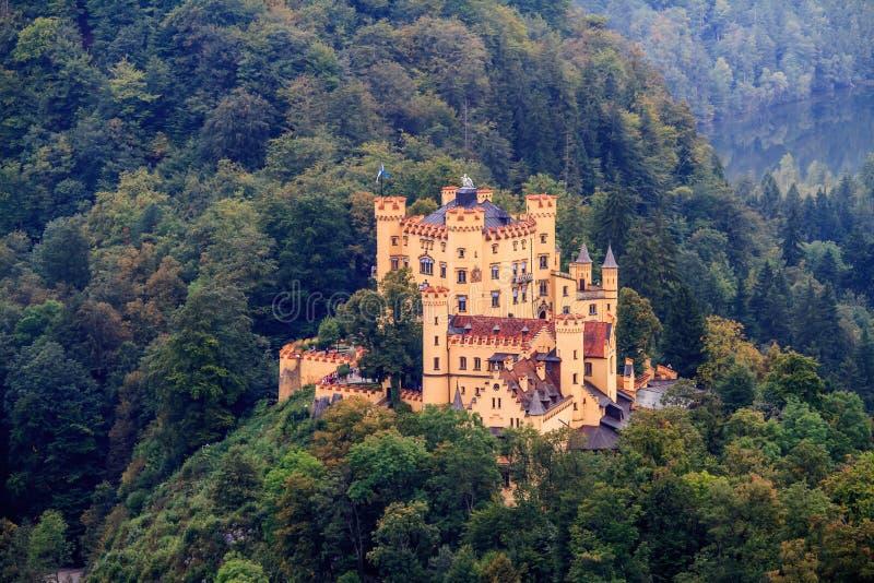 Hohenschwangau royaltyfri foto