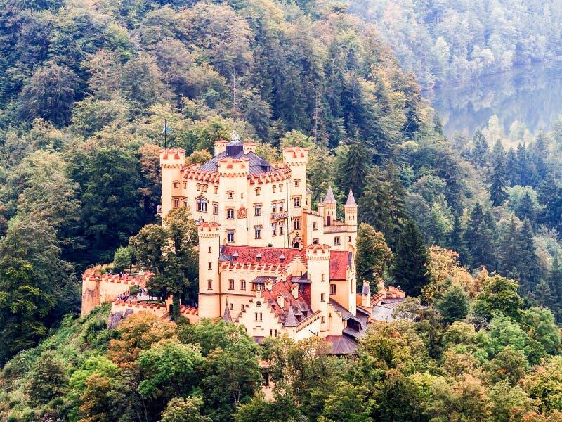 Hohenschwangau immagini stock libere da diritti