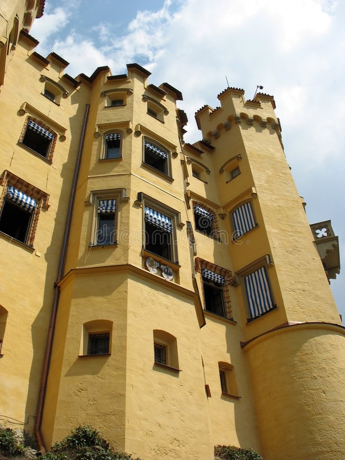 Hohenschwangau Castle royalty free stock photos