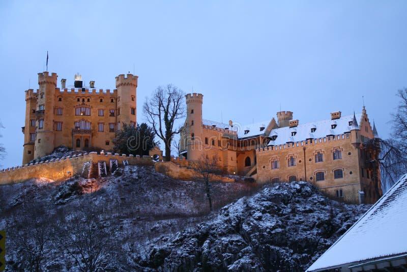 Hohenschwangau Kasztel obrazy royalty free