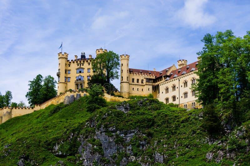 Hohenschwangau Schloss стоковые изображения rf