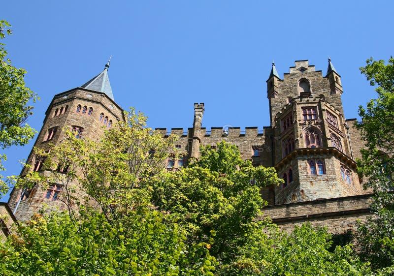 hohenzollern的城堡 图库摄影