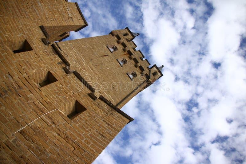 hohenzollern的城堡 免版税库存图片