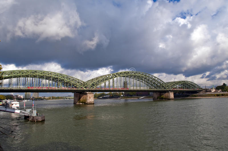 Hohenzollern bridge stock image