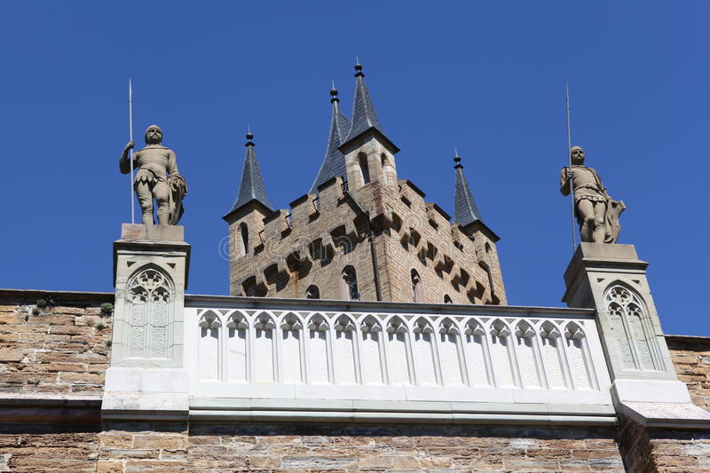 Hohenzollern castle royalty free stock photography
