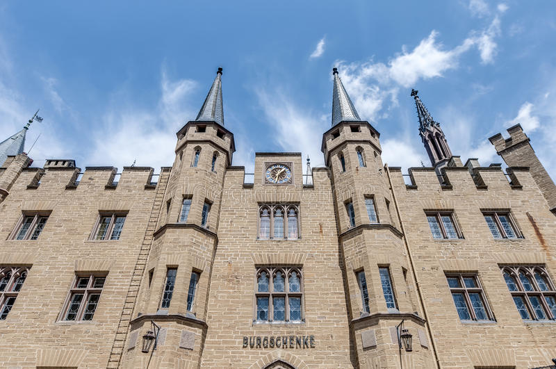 Hohenzollern Castle in Baden-Wurttemberg, Germany royalty free stock photos