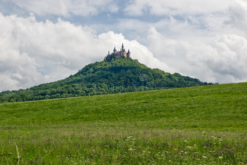 Hohenzollern Schloss stockfoto