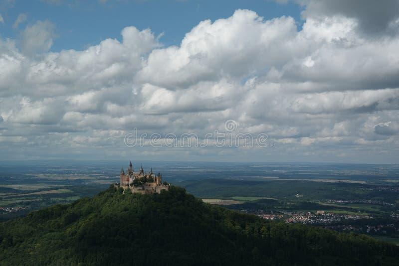 Hohenzollern Schloss lizenzfreies stockbild