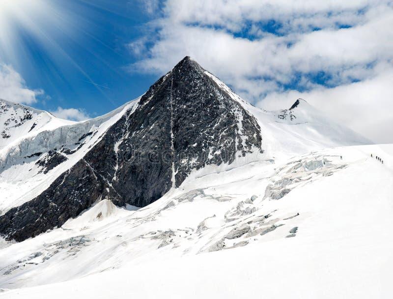 Hoher Berg lizenzfreie stockfotos