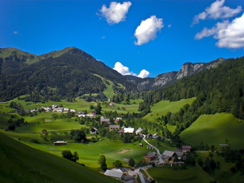 Hoher Berg der Kleinstadt stockbilder