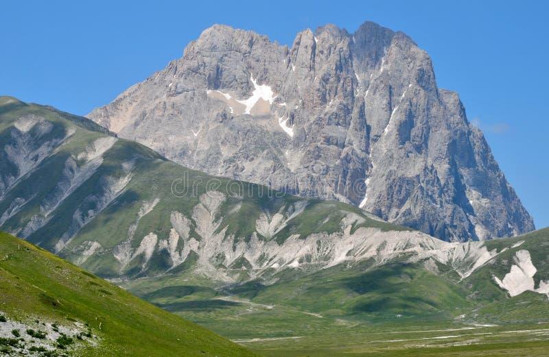 Hoher Berg - Gran Sasso lizenzfreie stockbilder