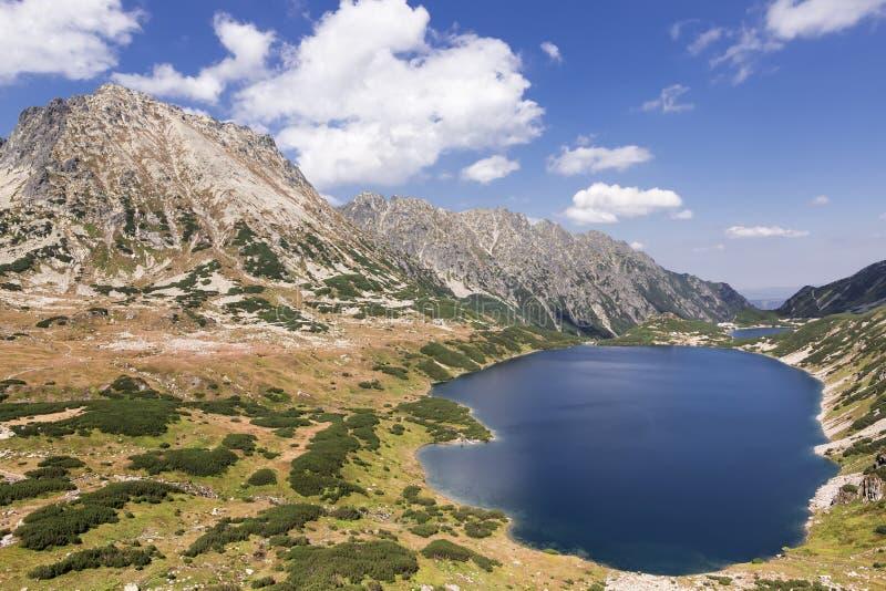 Hoher Berg in Polen. stockbild