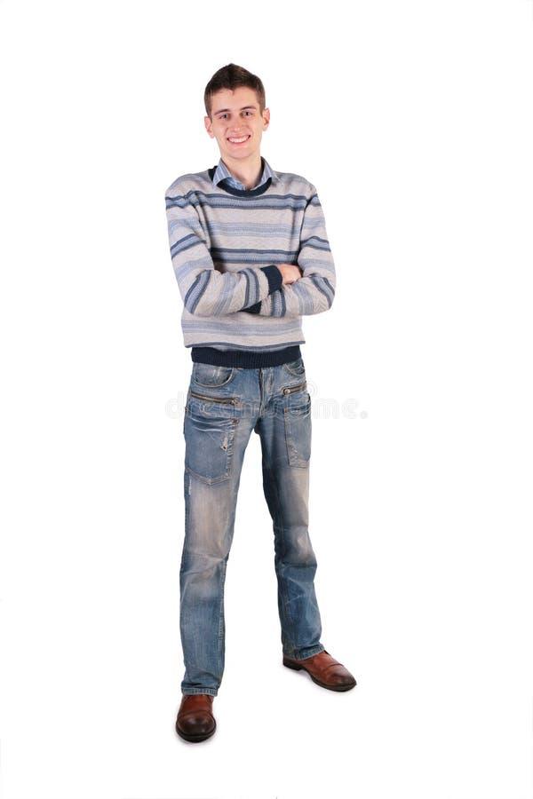 Hoher junger Mann stockbilder