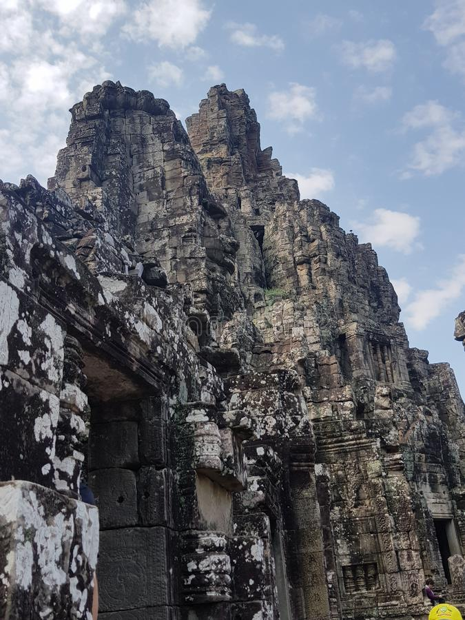 Hoher Tempel stockfotografie