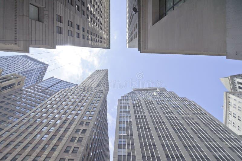 Hohes Aufstiegsgebäude Stockfoto