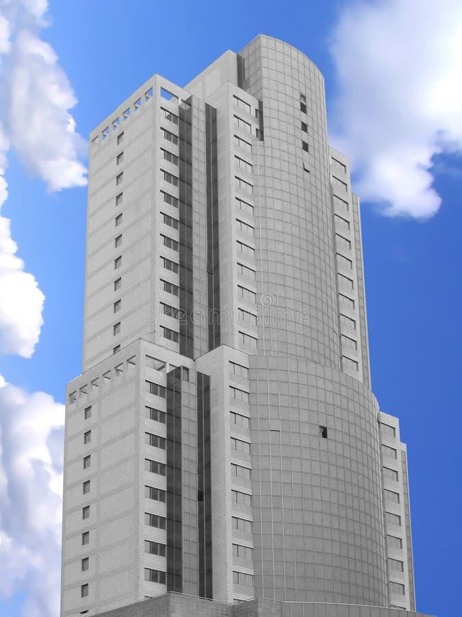 Hohes Gebäude stock abbildung