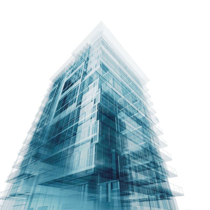 Hohes Gebäude vektor abbildung