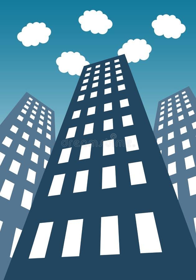 Download Hohes Gebäude stock abbildung. Illustration von skyline - 47100393