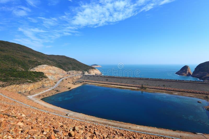 Hohes Insel-Reservoir lizenzfreies stockbild