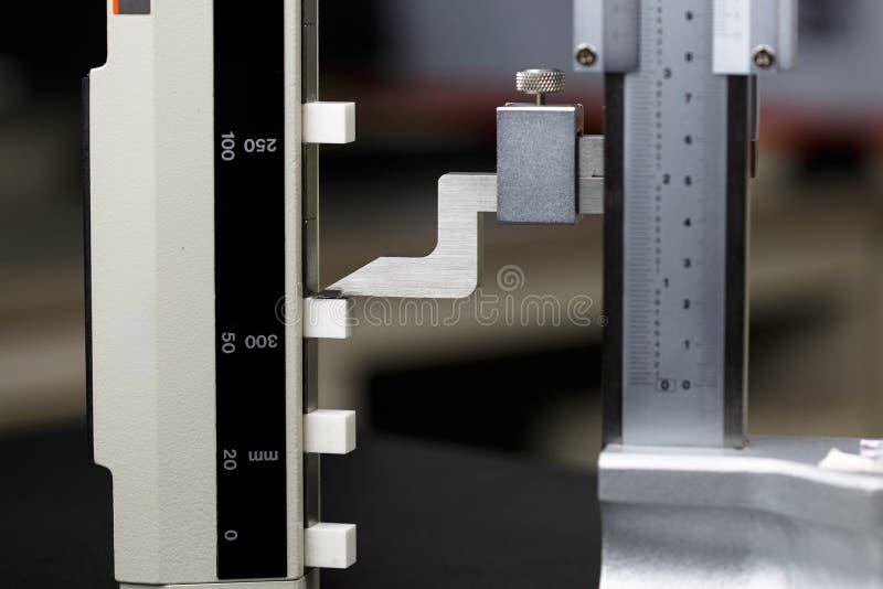 Hohes Messgerät der Kalibrierung stockfotos