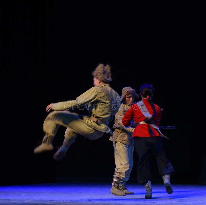 "Hohle Saltopeking-Oper, die Tiger Montain By Strategyâ-€  ""Taking ist lizenzfreie stockbilder"