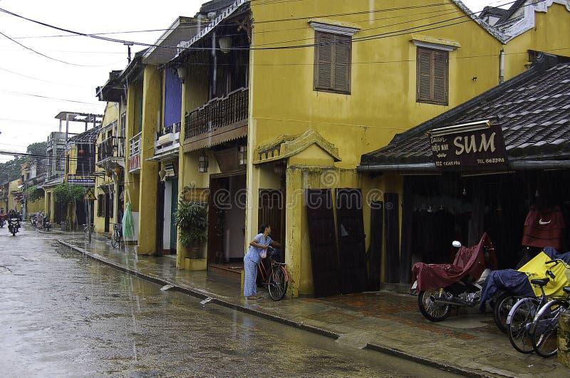 Hoi在越南,灯笼城市 图库摄影
