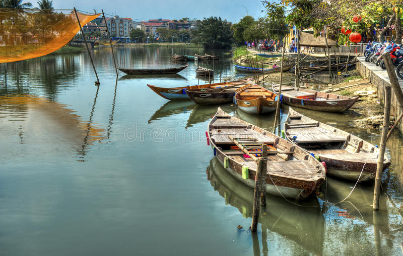 Hoi ένα Βιετνάμ στοκ εικόνες