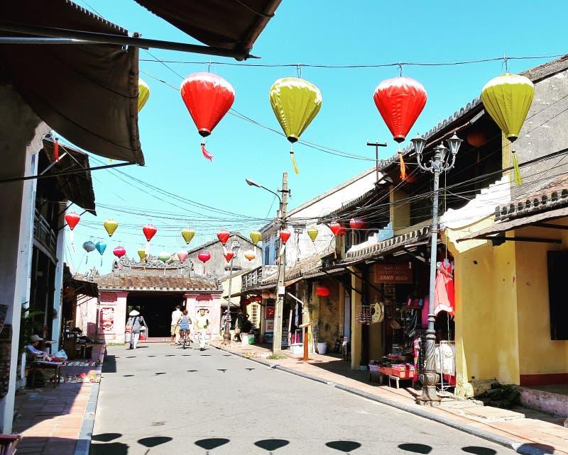 Hoi древний город, Вьетнам стоковая фотография rf