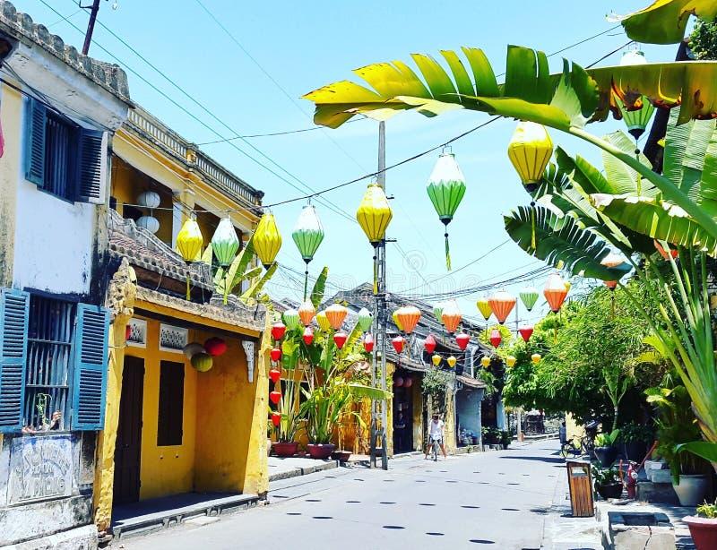 Hoi древний город, Вьетнам стоковая фотография