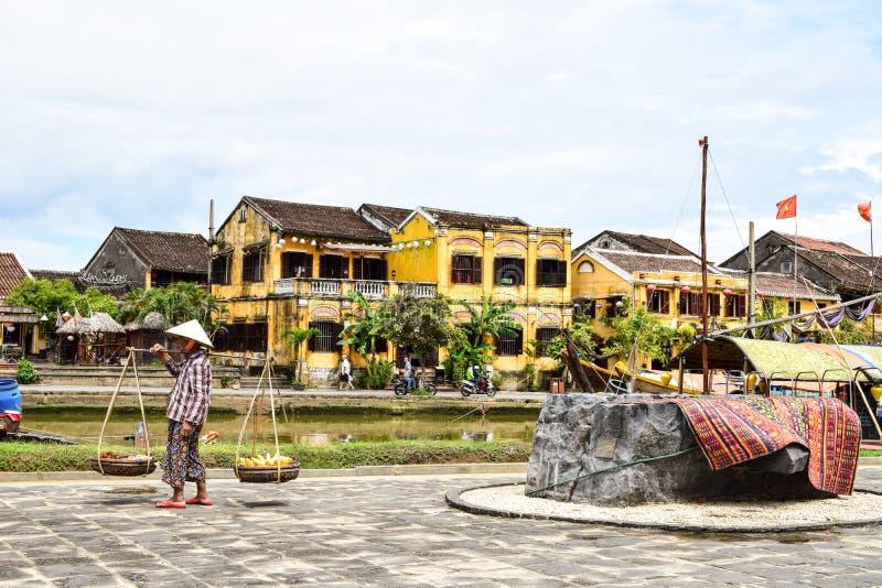 Hoi портовый район стоковое изображение rf