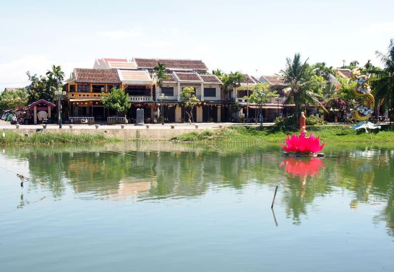 Hoi старый городок в Вьетнаме стоковые фотографии rf