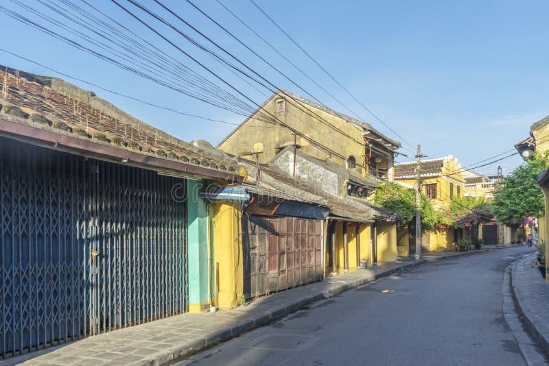 Hoi старый городок, провинция Quang Nam, Вьетнам стоковое изображение rf