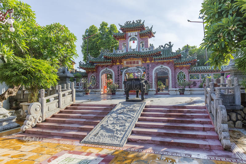 Hoi An Ancient stad, Quang Nam landskap, Vietnam arkivbilder