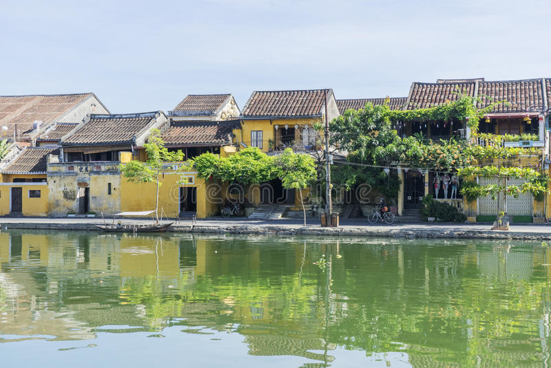 Hoi An Ancient stad, Quang Nam landskap, Vietnam arkivfoto