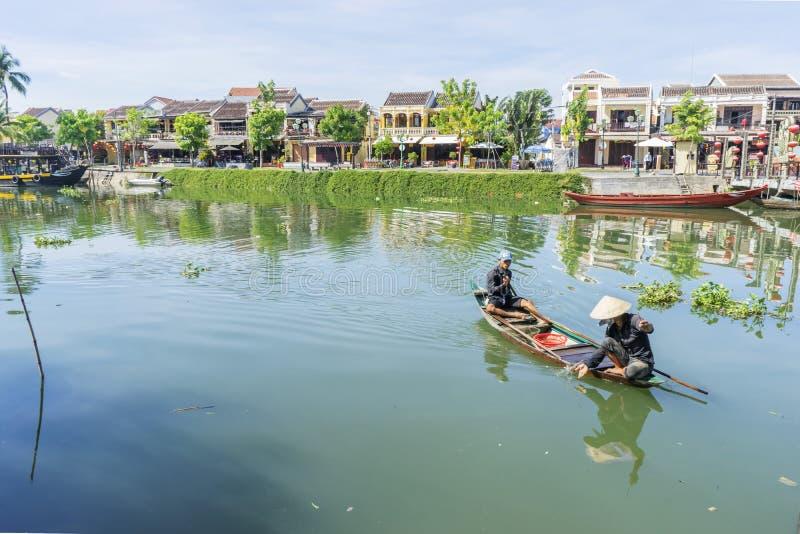 Hoi An Ancient stad, Quang Nam landskap, Vietnam fotografering för bildbyråer