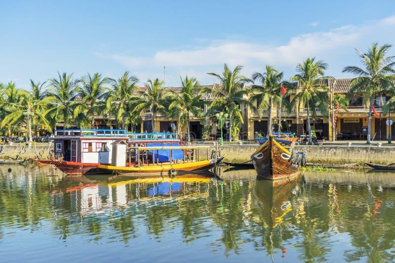 Hoi An Ancient stad, Quang Nam landskap, Vietnam royaltyfria bilder