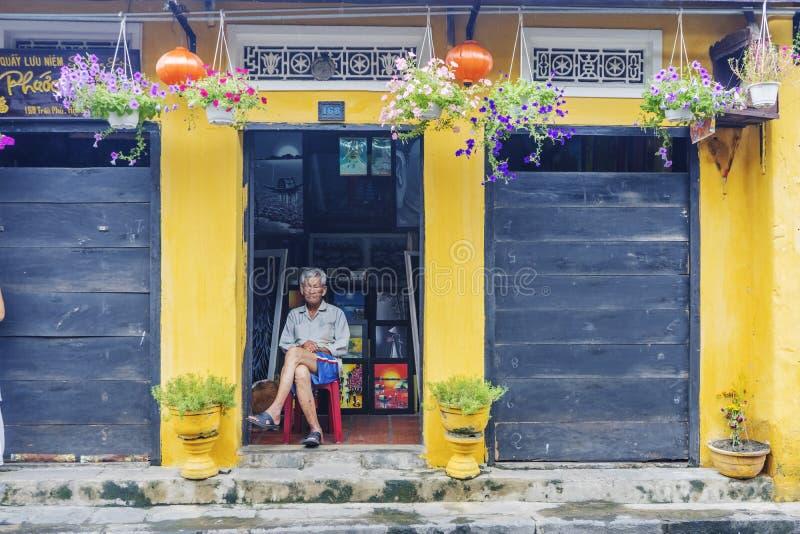 Hoi An Ancient stad, Quang Nam landskap, Vietnam royaltyfri foto